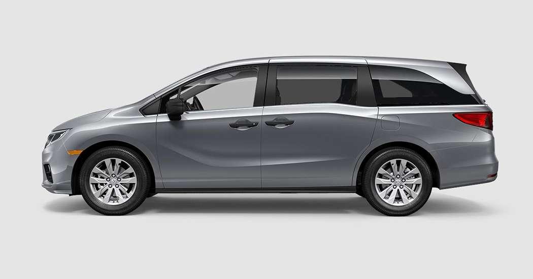 2018 Honda Odyssey LX in Lunar Silver