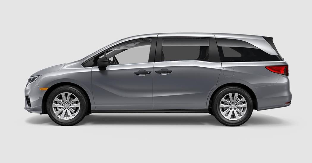 Honda Odyssey Colors >> 2018 Honda Odyssey Exterior Colors Trim Levels New Honda
