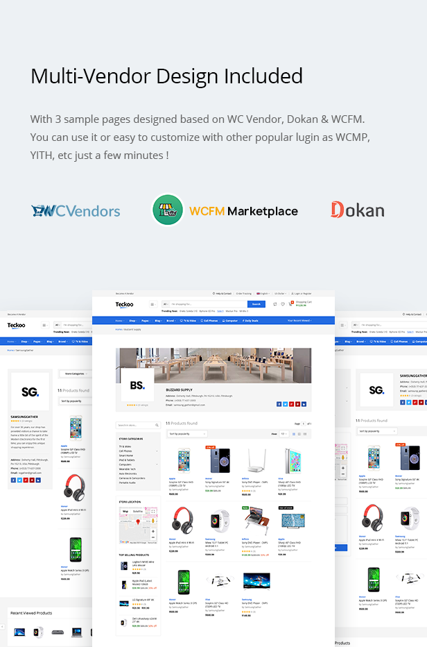 Teckoo - Electronic & Technology Marketplace eCommerce PSD Template - 11