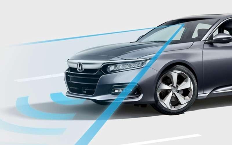 2019 Honda Accord Hybrid Sensing Safety