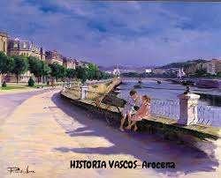 historia-vascos Paseo de Francia