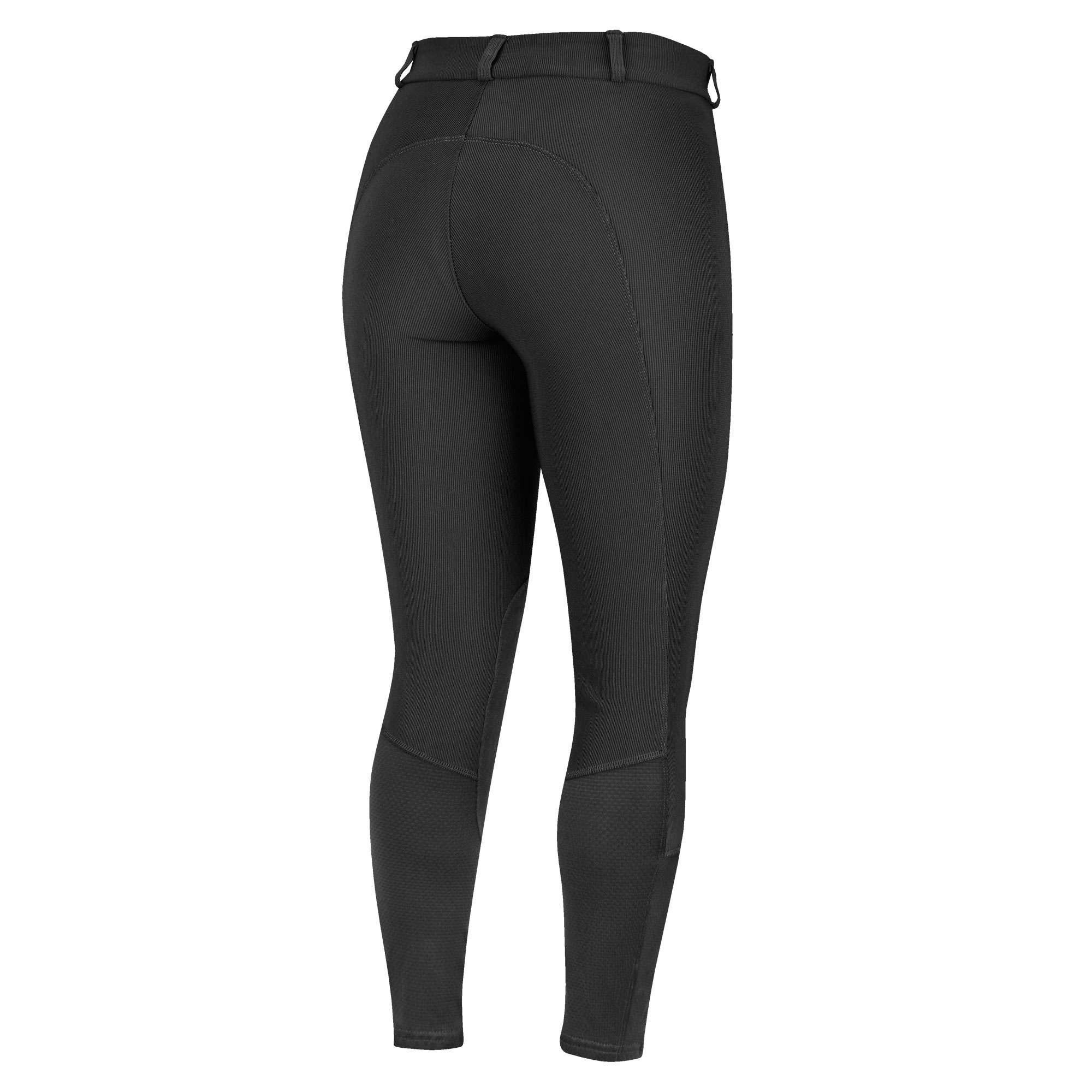 Irideon Ladies Cadence Euro Knee Patch Riding Breeches Compressive Stretch-Cord