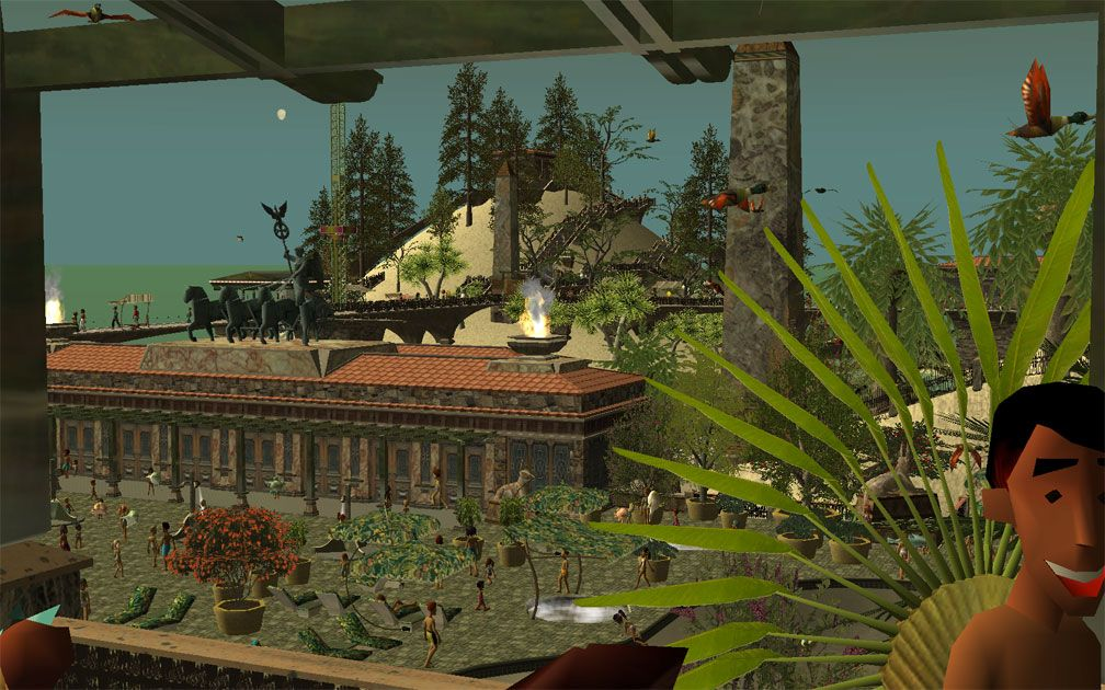 My Projects - CSO's I Have Imported, Pergolas Set - The Sandwich Terrace, View Over Pool Complex, Image 04