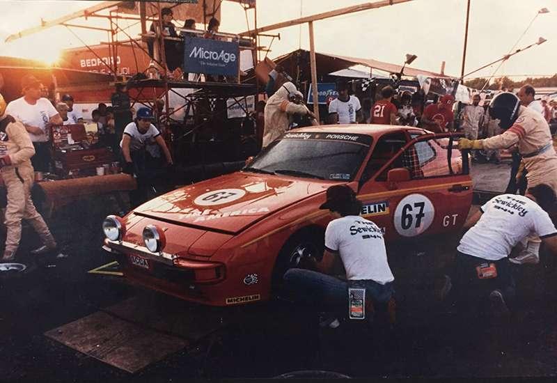 Sewickley Porsche Sponsored Racecar