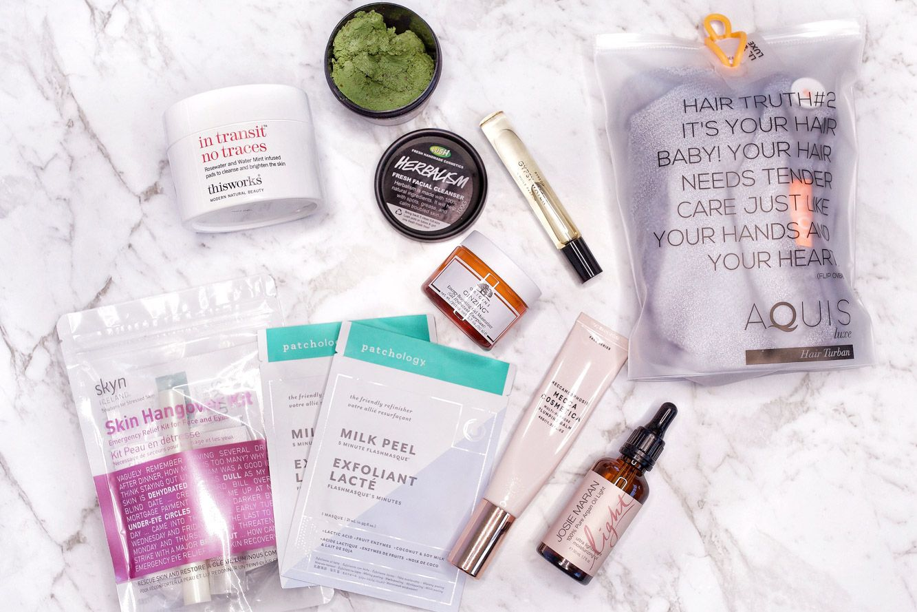 Top Beauty Essentials when Travelling