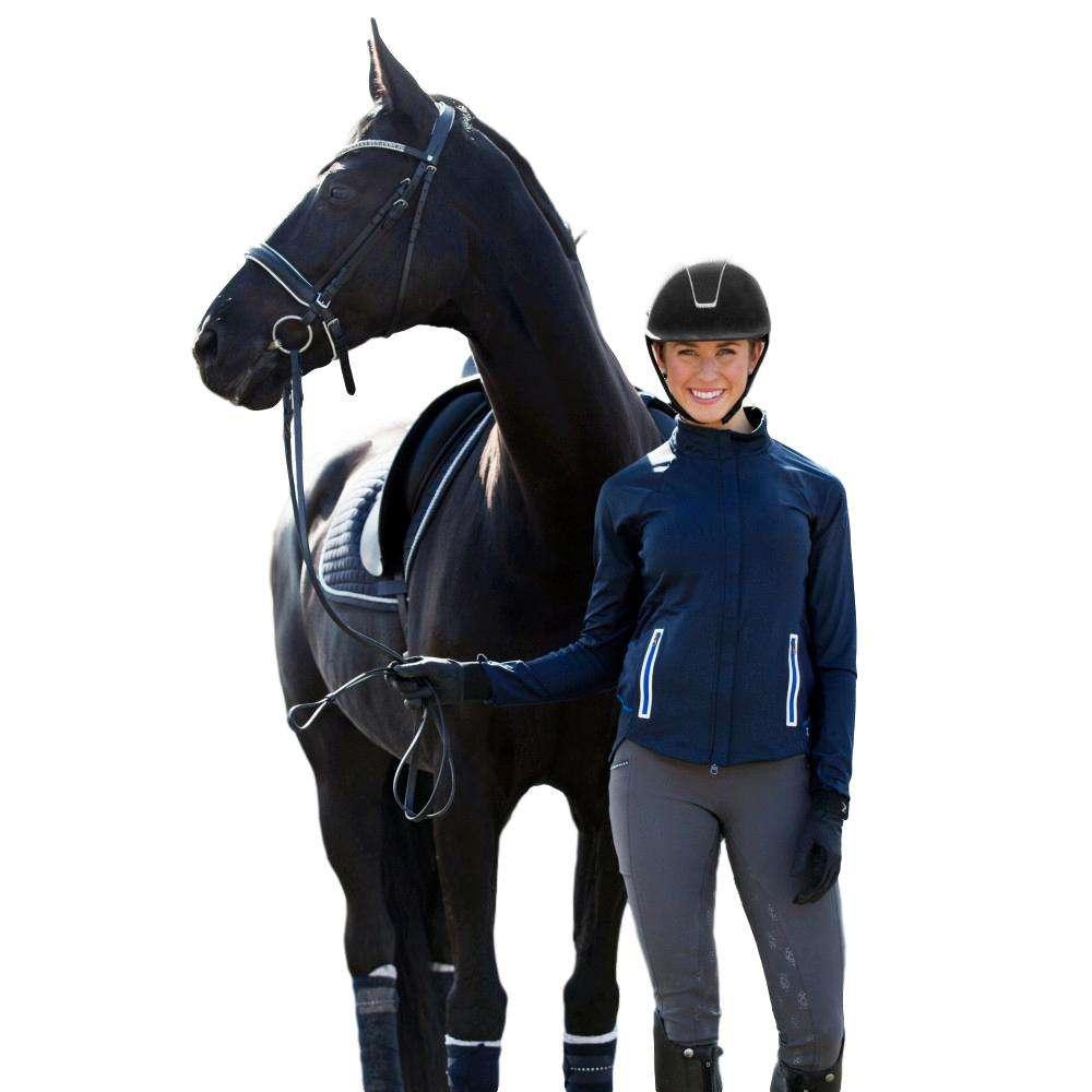 Horze-Leah-Women-039-s-Windproof-All-Season-Riding-Tights-Mid-Rise-Waist thumbnail 11