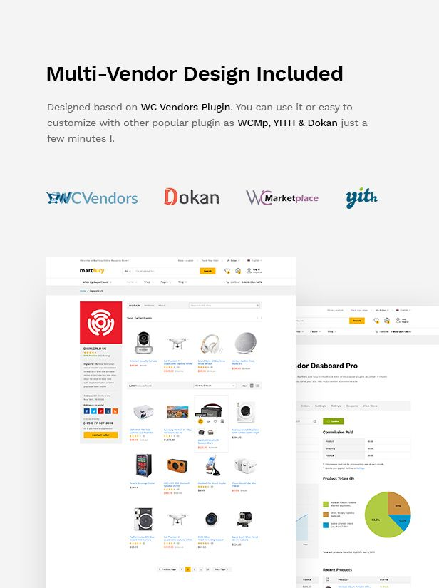 MartFury | Multi-Vendor & Marketplace eCommerce PSD Template - 14