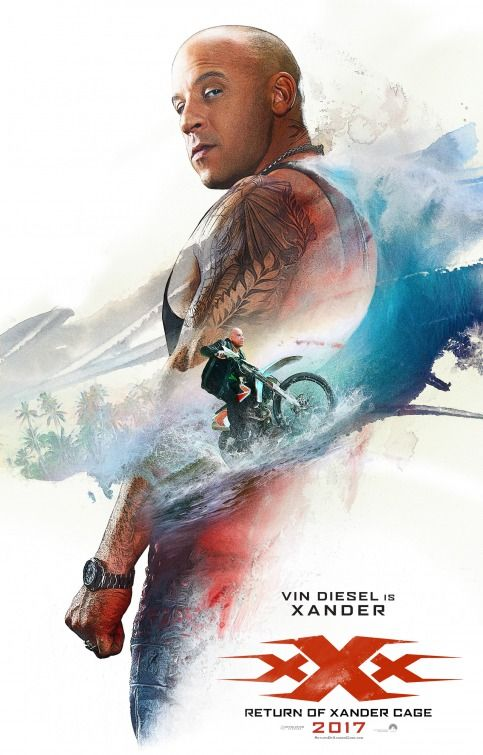 Poster xXx Return of Xander Cage 2017 Full HD Movie Download in Hindi 720p