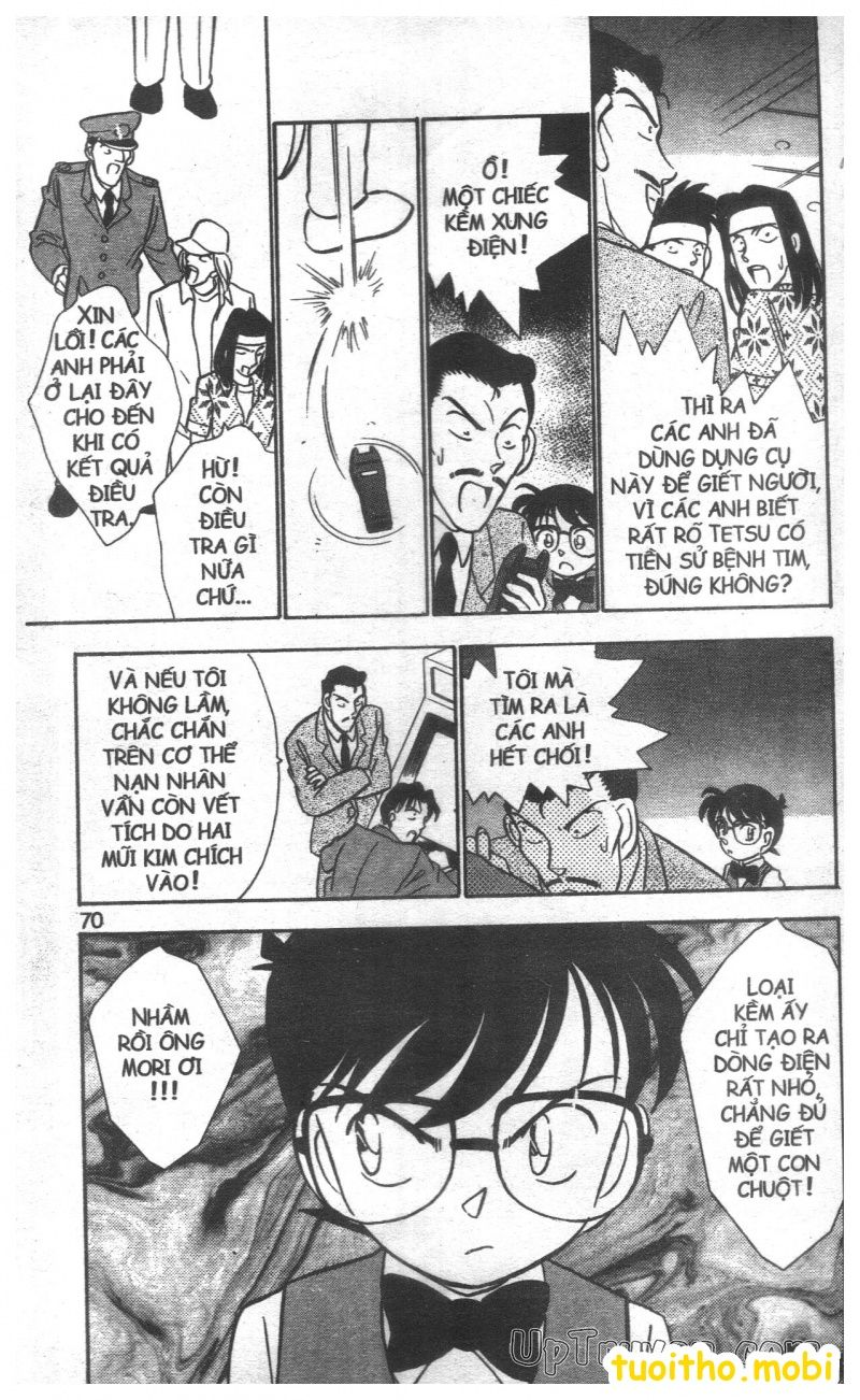 đọc truyện Conan bộ đặc biệt chap 21 trang 13