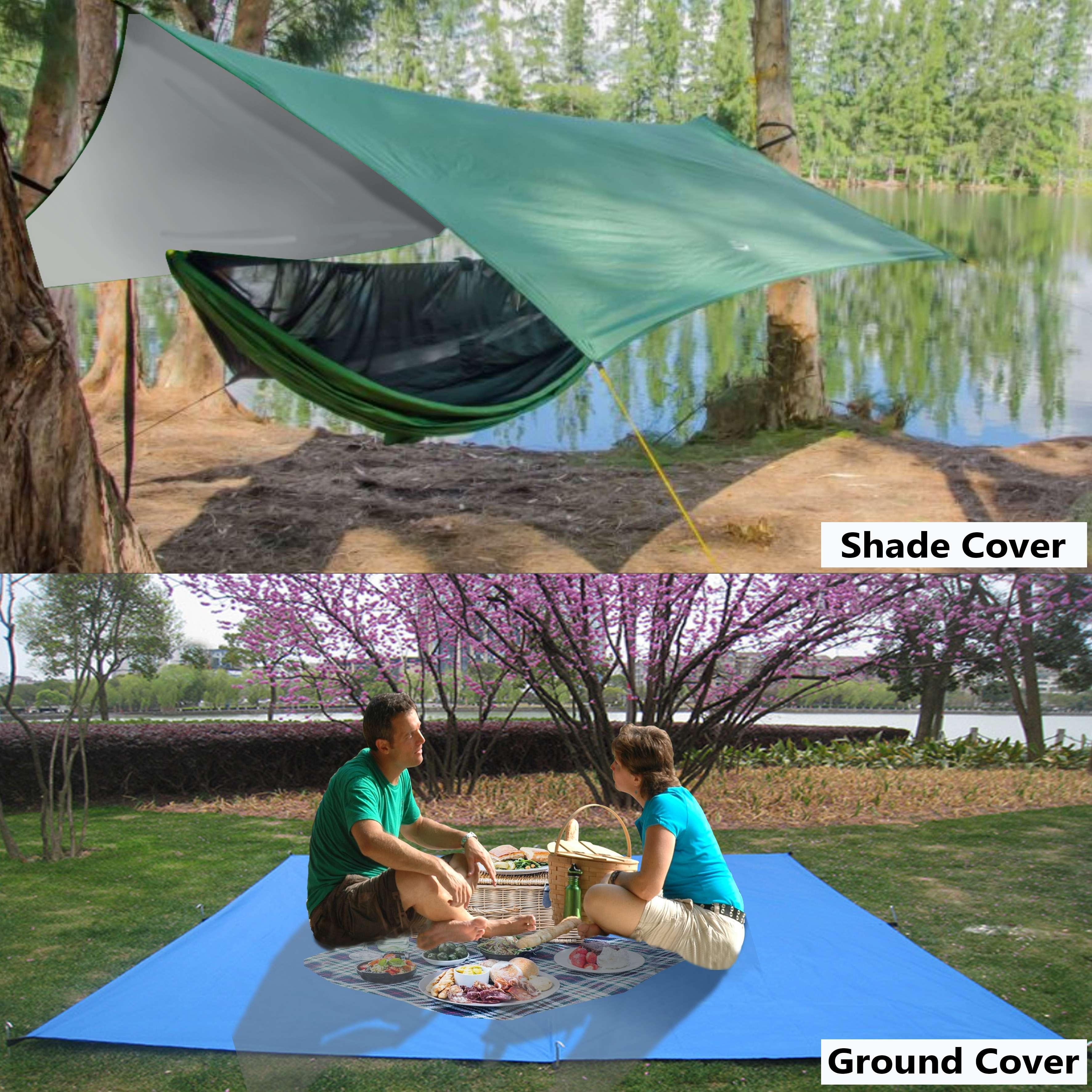 3x3m TENT CANOPY TARP SHADE WATERPROOF COVER - RAIN, HAIL or SHINE
