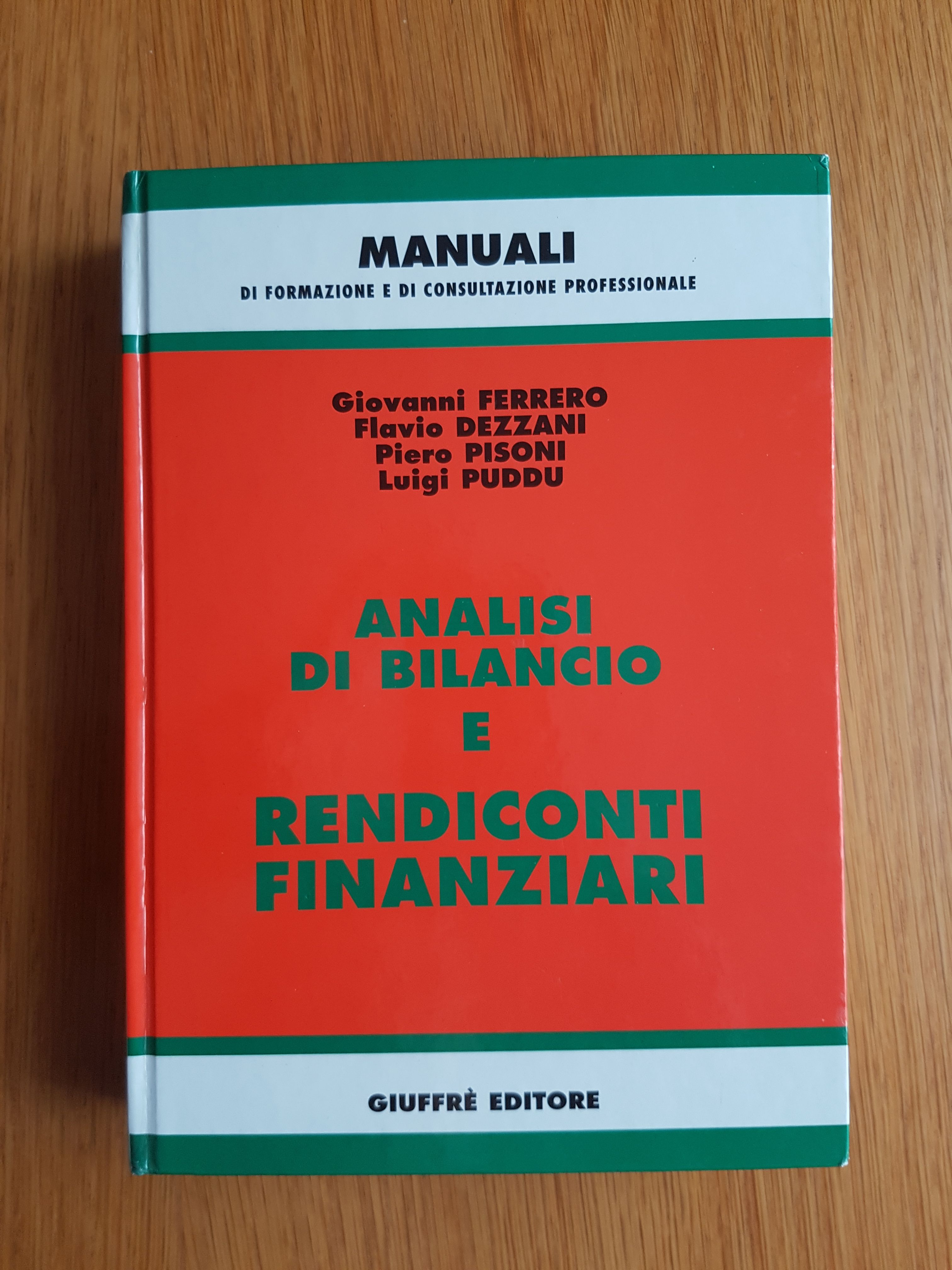 Analisi di bilancio e rendiconti finanziari