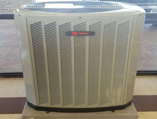 Trane 5 Ton 13 Seer Heat Pump System Condenser Air Handler