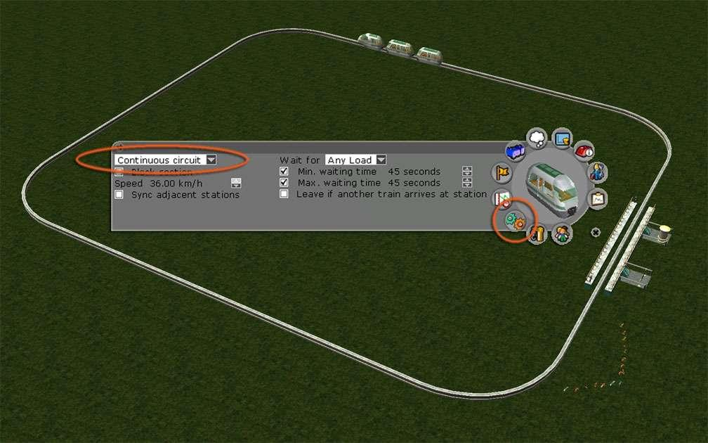 Image 03, Park Shuttle Configurations - Standard Continuous Circuit Configuration