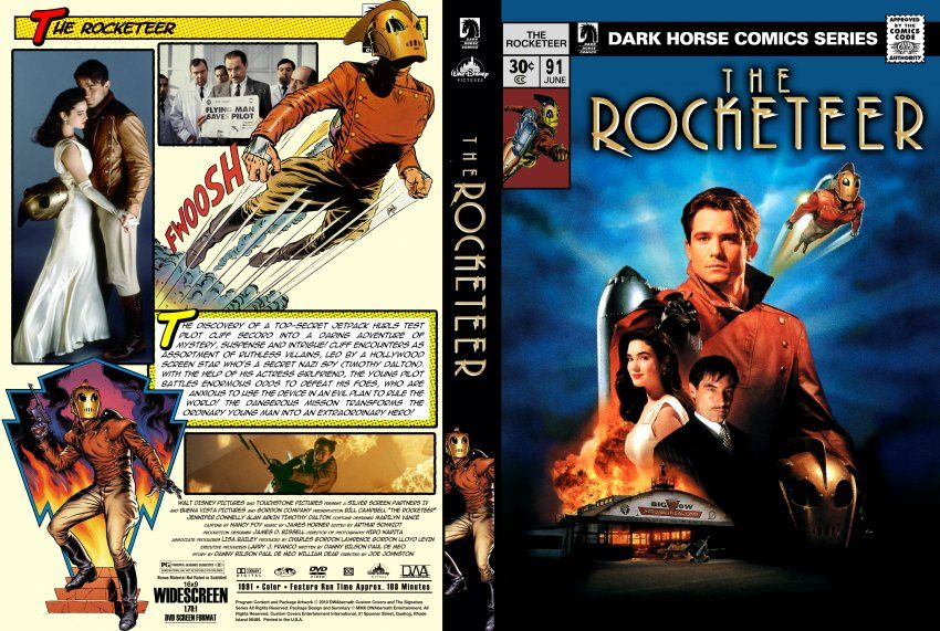 Poster The Rocketeer