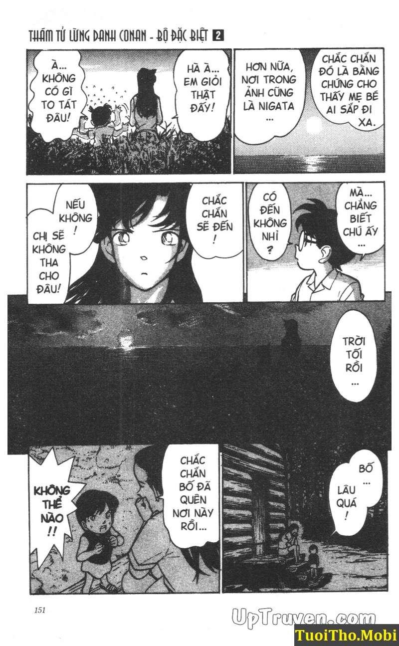 đọc truyện Conan bộ đặc biệt chap 16 trang 18