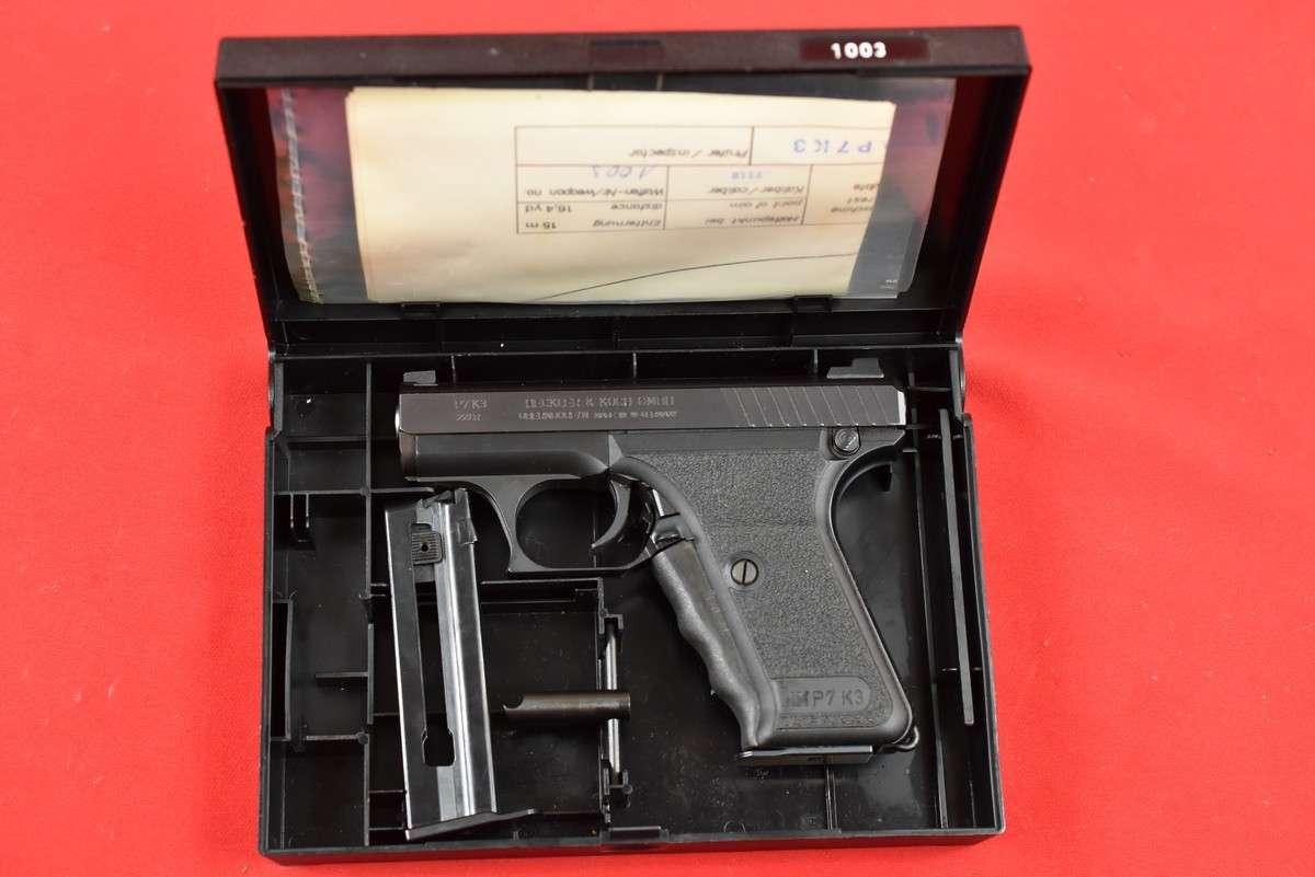 HK P7 K3 22LR