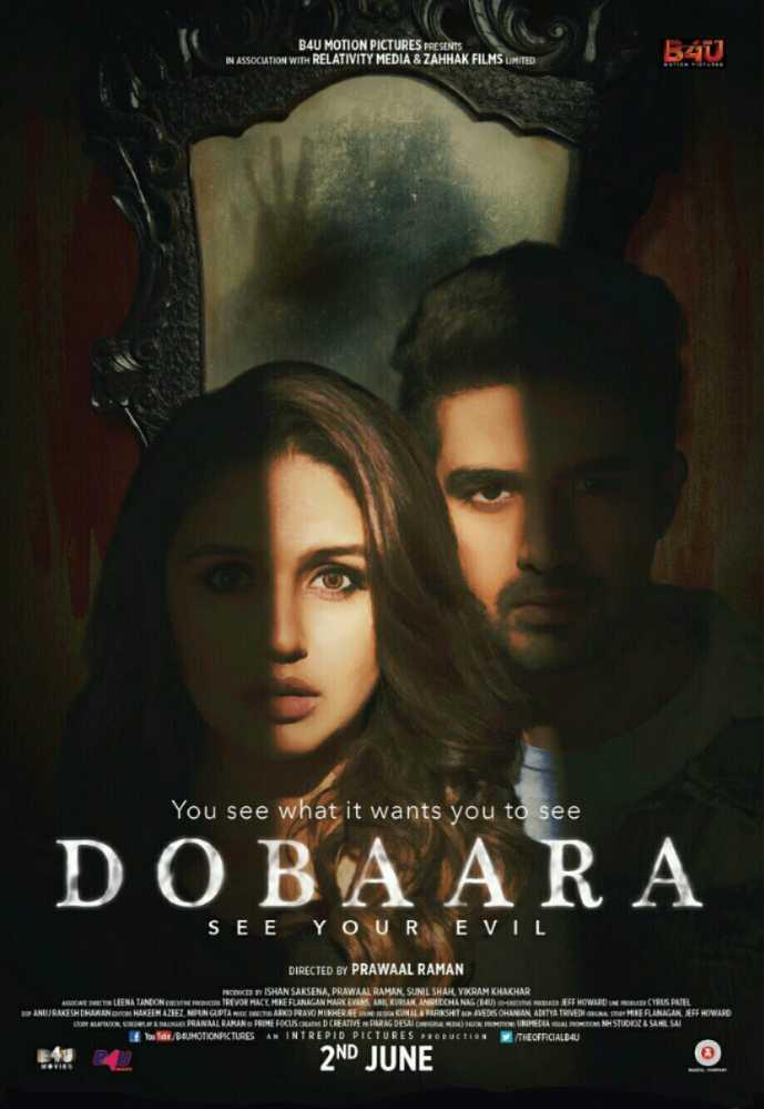 Poster Dobaara (2017) Full Hindi Movie Download Pre-DVDRip