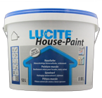 Lucite House Paint weiss 12L , Hausfarbe, Fassadenfarbe