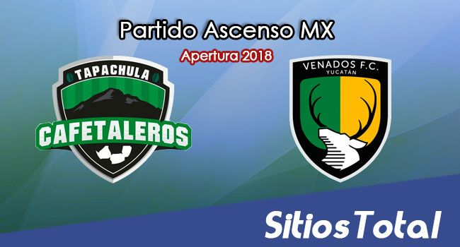 Ver Cafetaleros de Tapachula vs Venados en Vivo – Ascenso MX en su Torneo de Apertura 2018