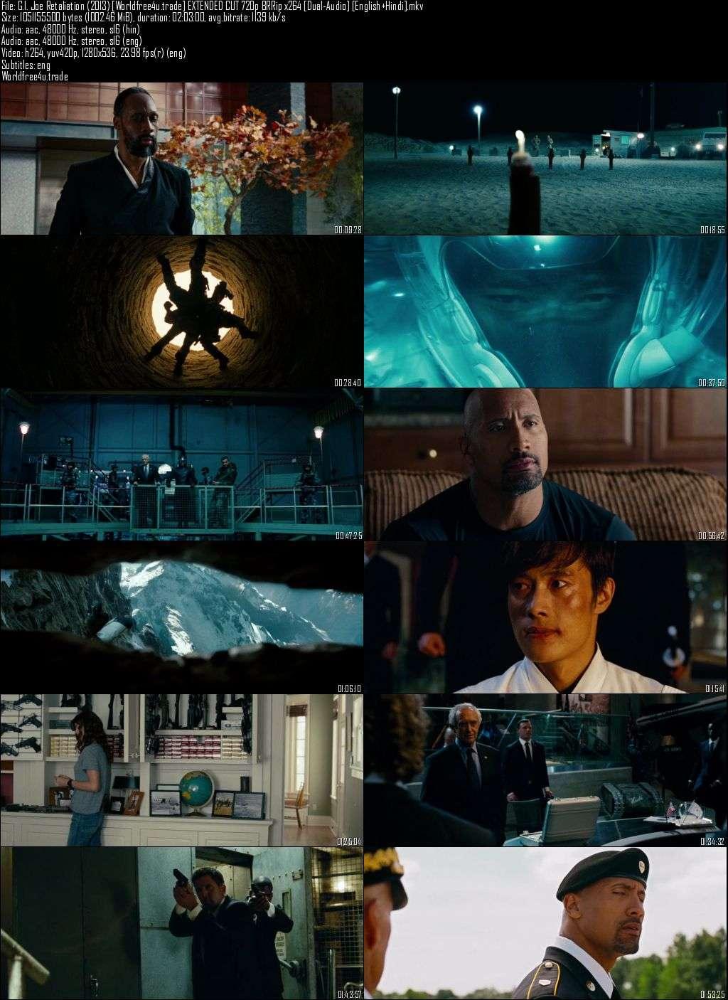 Screen Shots G.I. Joe Retaliation (2013) Full HD Movie Download Dual Audio Hindi 720p