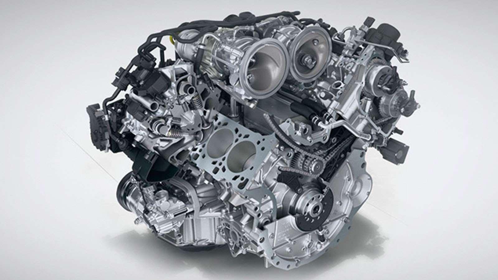 Porsche Panamera Engines