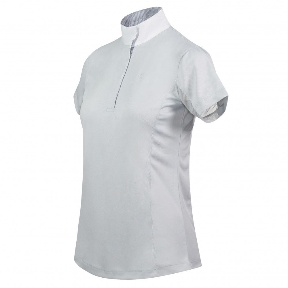 Horze-Blaire-Women-039-s-Short-Sleeve-Functional-Show-Shirt-with-UV-Protection thumbnail 34
