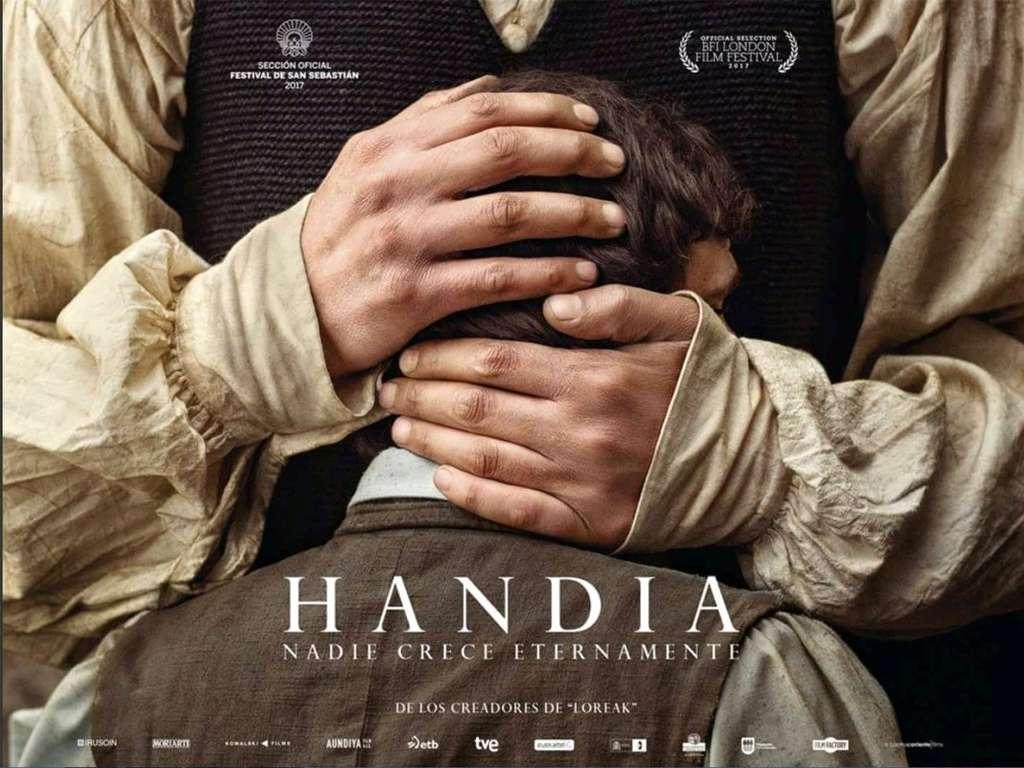 Ο Γίγαντας (Handia) Quad Poster Πόστερ