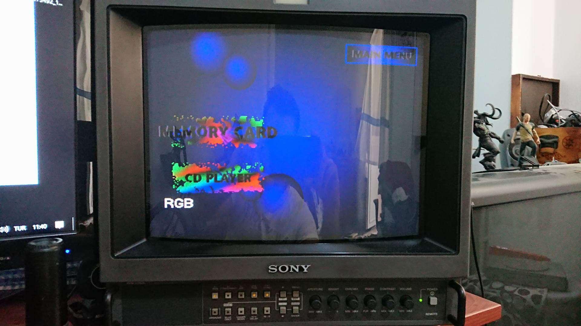 Sony PVM Beyaz sorunu
