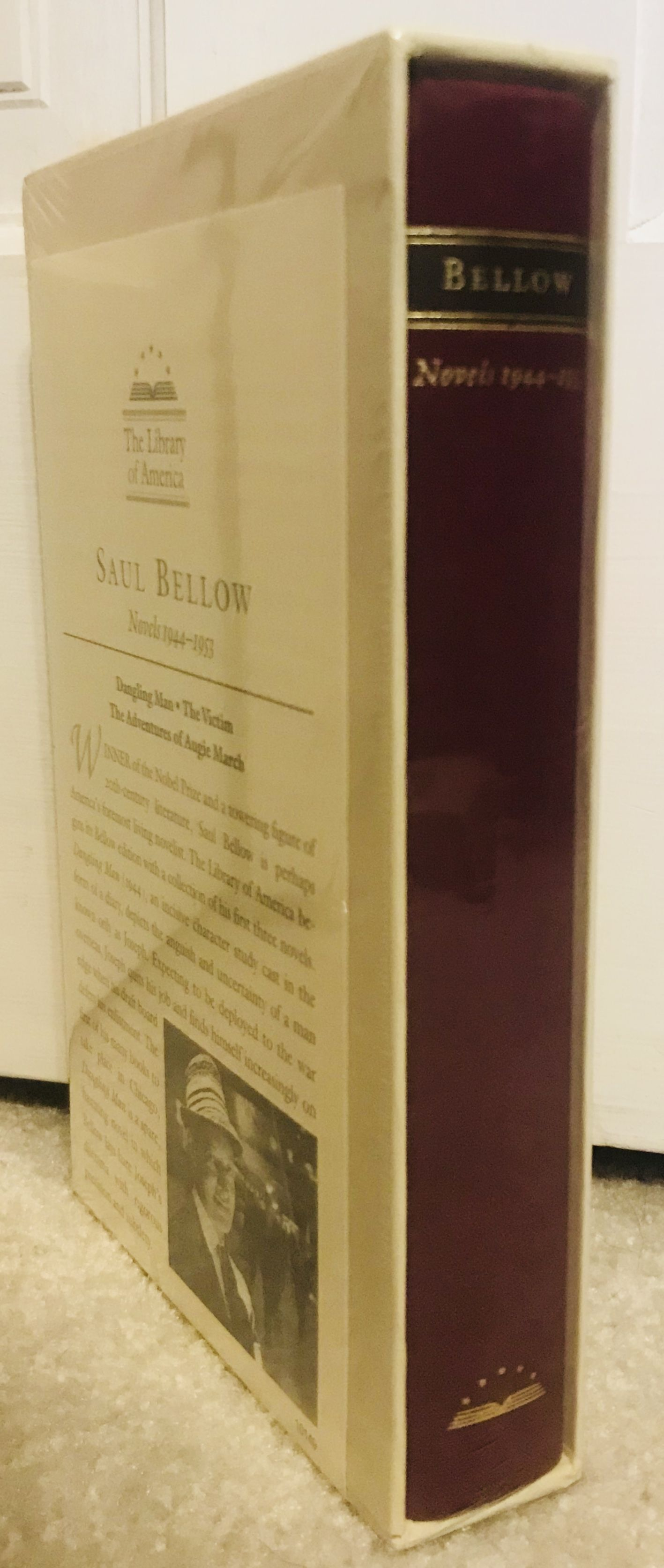 Saul Bellow: Novels 1944-1953: Dangling Man, The Victim, and The Adventures of Augie March (Library of America), Bellow, Saul