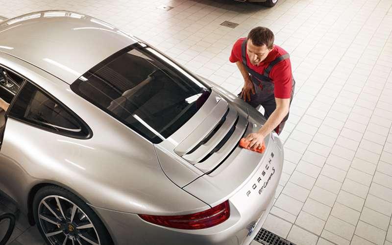 Porsche Dent Protection