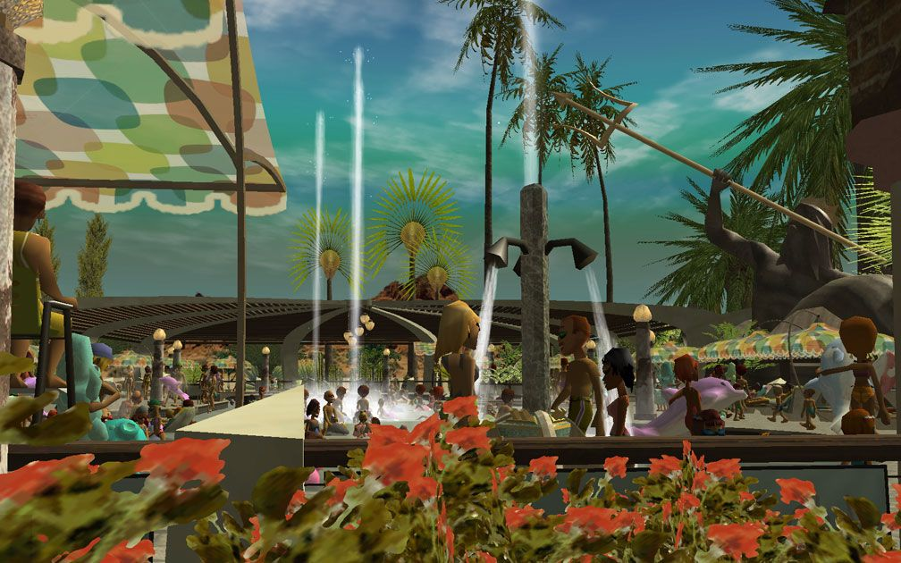 Image 04, My Projects - CSO's I Have Imported, Port Of Entry Themed Pool Complex Extras