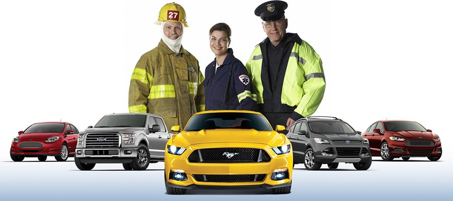 First Responders Ford Discount