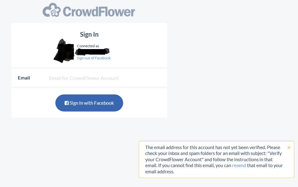 NeoBux Forum: Problem with CrowdFlower