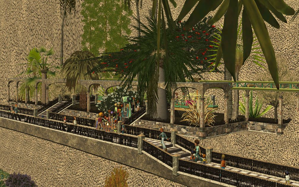My Projects - CSO's I Have Imported, Landscaping and Park Grounds - Arched Surround at Volo daVinci Station Above Pool Complex, Image 12