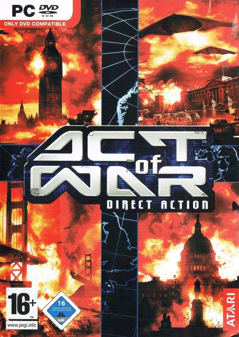Act of War Deutsche  Texte Cover