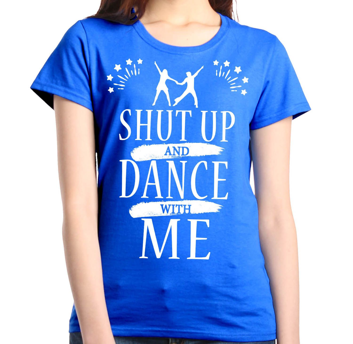text shut up and dance