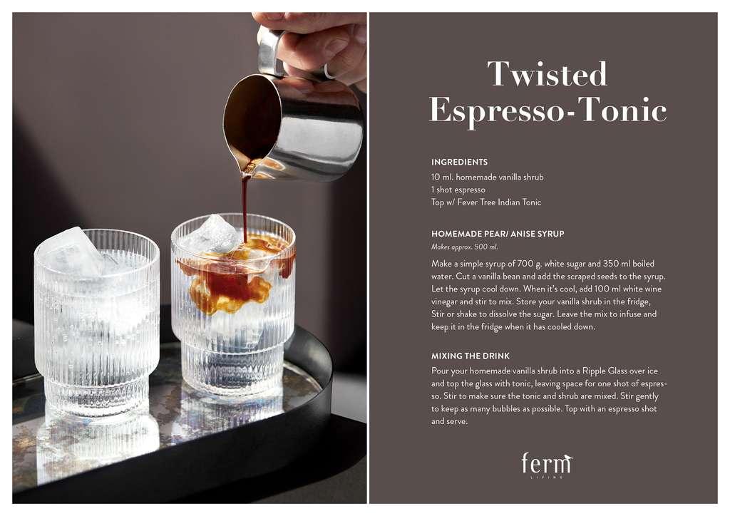 Twisted espresso tonic