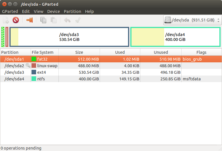 Восстановление GRUB - Ubuntu ru
