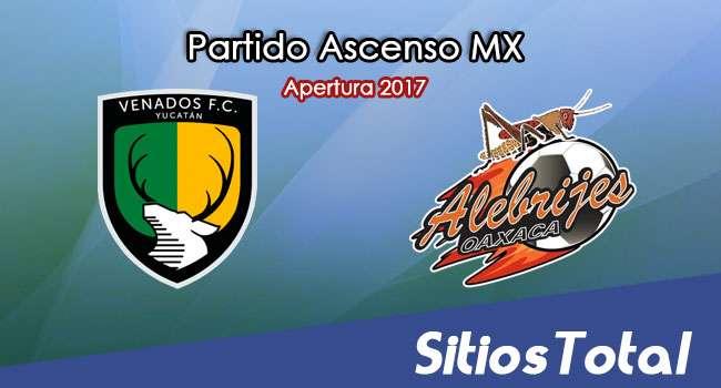 Venados FC vs Alebrijes de Oaxaca en Vivo – Jornada 7 Apertura 2017 Ascenso MX – Viernes 8 de Septiembre del 2017