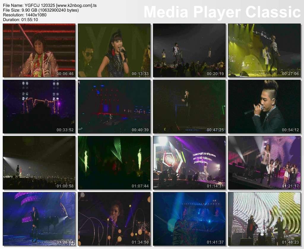 [Concert] YG Family Concert in Japan 120325