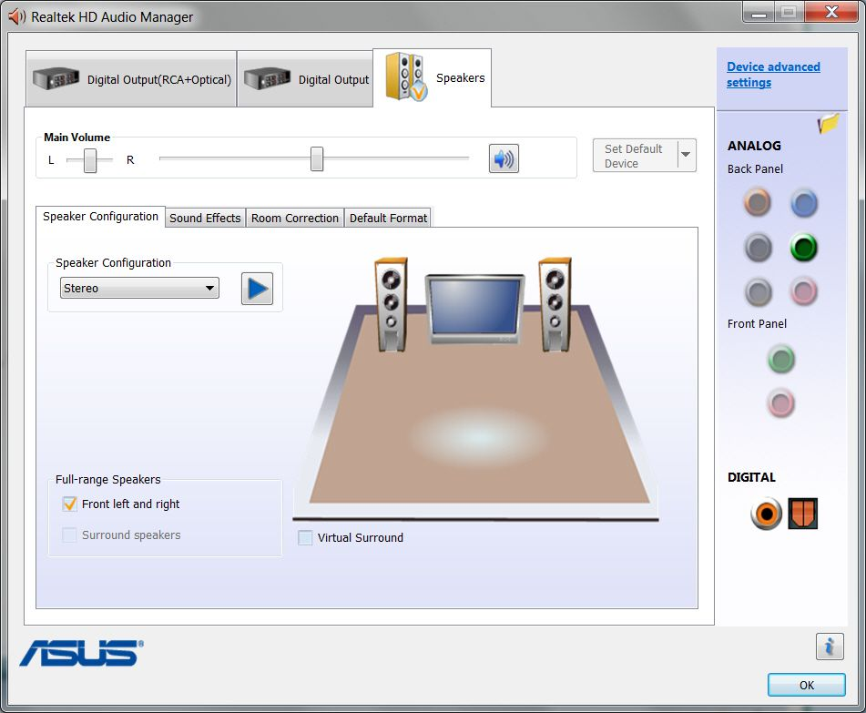 Latest Realtek HD Audio Driver Version - Page 94 - Windows 7