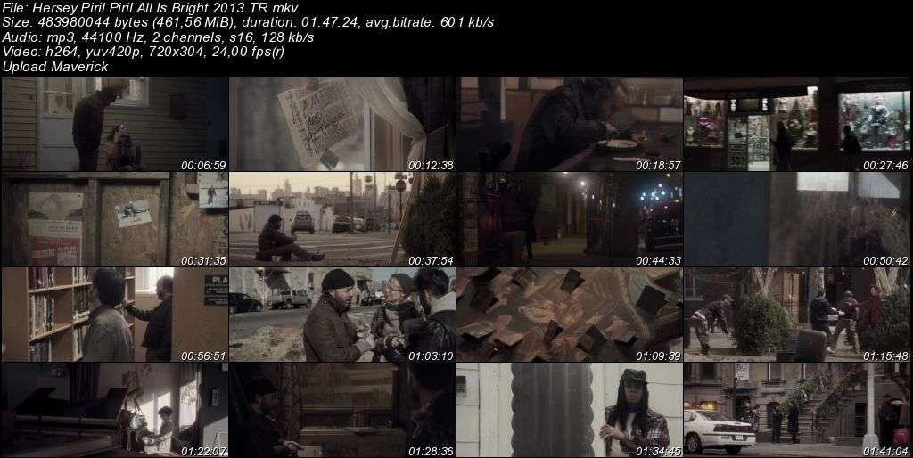 Hersey Pırıl Pırıl - All Is Bright - 2013 Türkçe Dublaj MKV indir