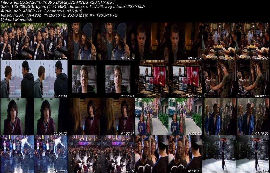 Sokak Dansı - 2010 3D BluRay m1080p H-SBS Türkçe Dublaj MKV indir