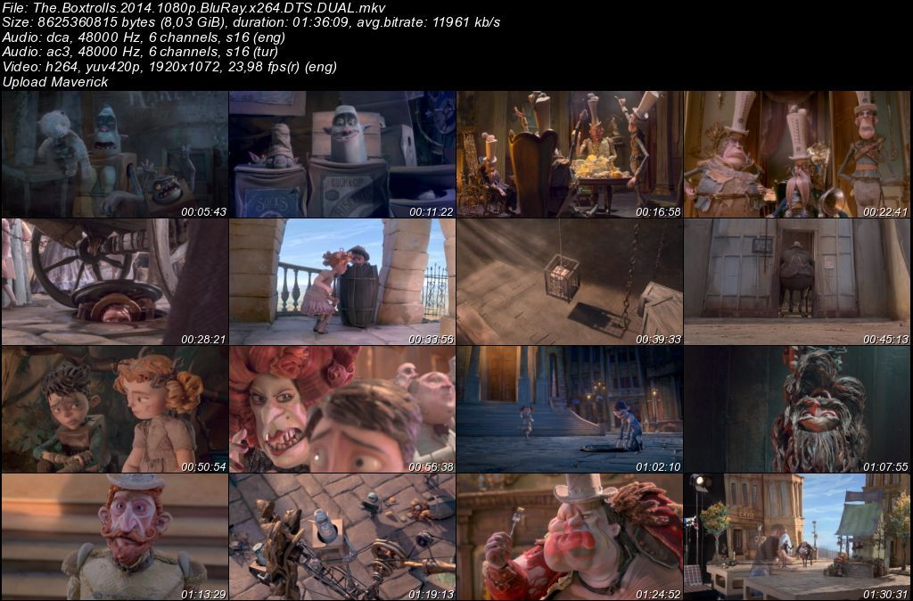 Kutu Cüceleri Yaratıklar Aramızda - 2014 BluRay 1080p DuaL MKV indir
