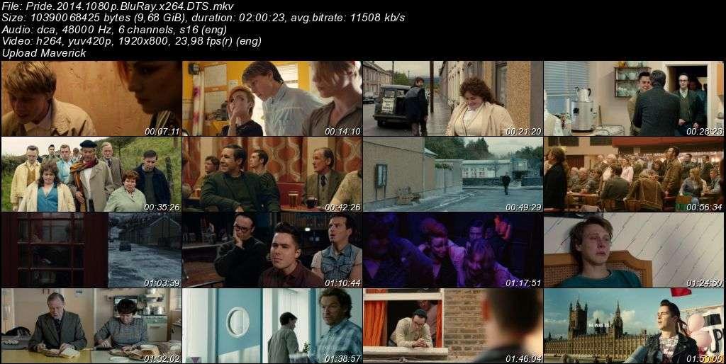 Pride - 2014 BluRay 1080p x264 DTS MKV indir
