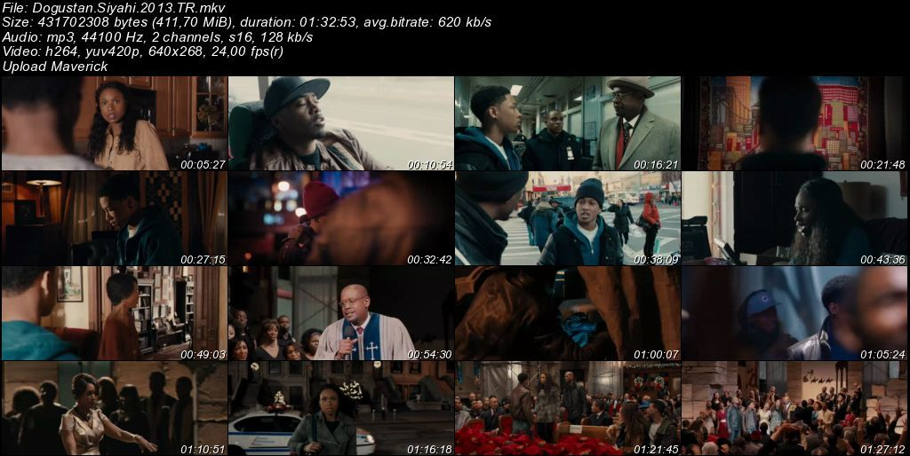 Doğuştan Siyahi – Black Nativity - 2013 Türkçe Dublaj MKV indir