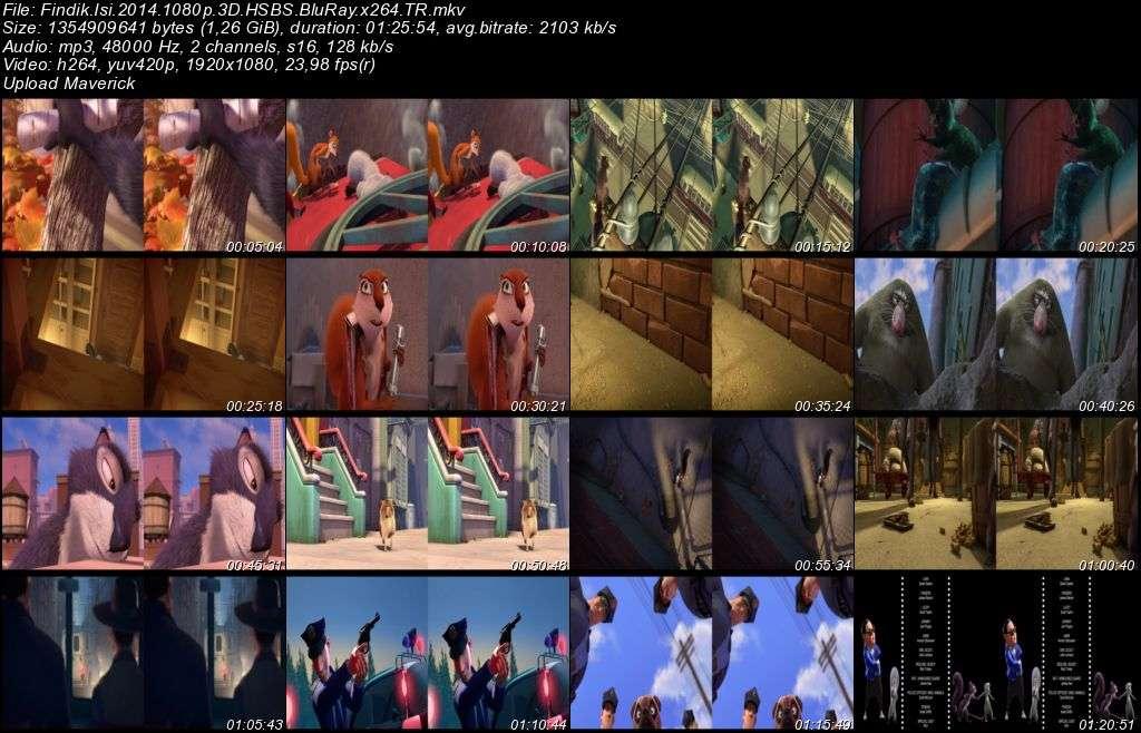 Fındık İşi - 2014 3D BluRay m1080p H-SBS Türkçe Dublaj MKV indir