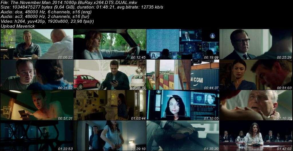 Hedefteki Adam - 2014 BluRay 1080p DuaL MKV indir