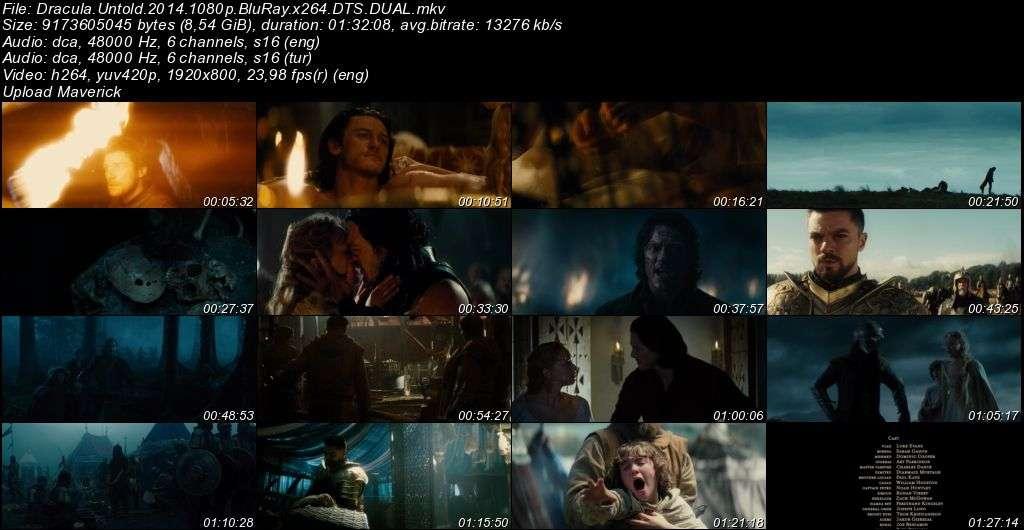 Dracula Başlangıç - 2014 BluRay 1080p DuaL MKV indir