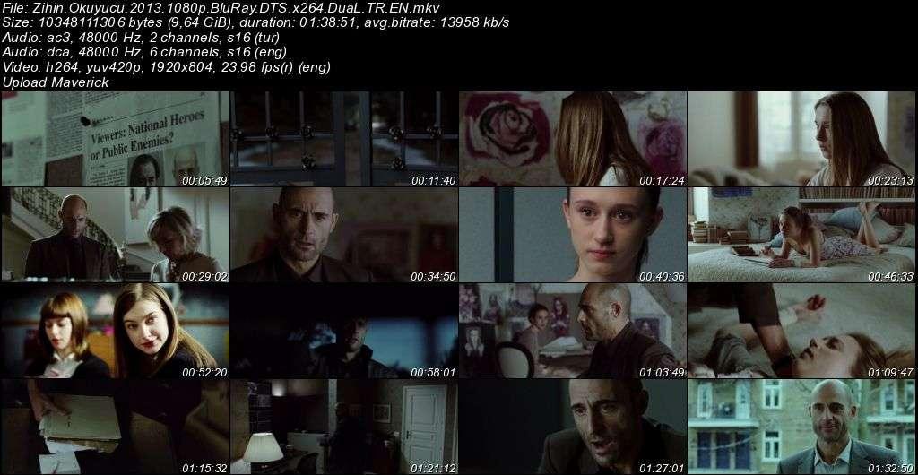 Zihin Okuyucu - Mindscape - 2013 BluRay 1080p DuaL MKV indir